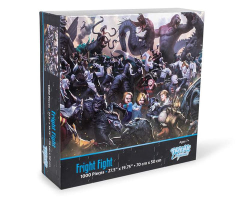 Fright Fight Horror Movie Villain Inspired 1000 Piece Jigsaw Puzzle