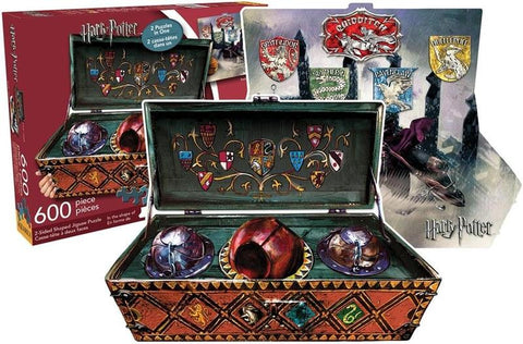 Harry Potter Quidditch 600-Piece 2-Sided Jigsaw Puzzle