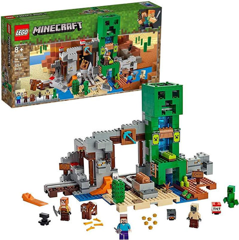 LEGO Minecraft 21155 The Creeper Mine 834 Piece Building Set
