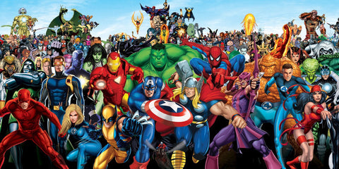 Marvel and DC Themes and Characters