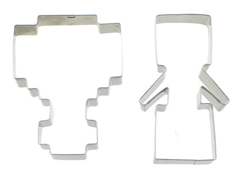 MineChest Cookie Cutters