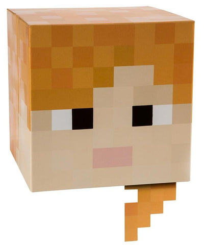 "Minecraft 12"" Alex Head Costume Mask"