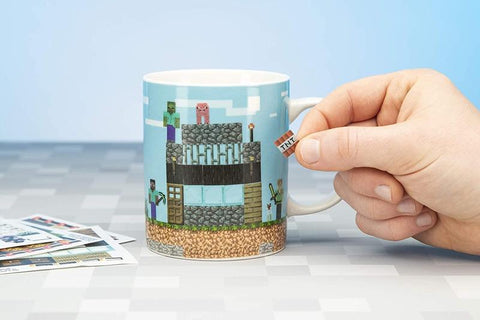Minecraft Build A Level 11oz Ceramic Coffee Mug