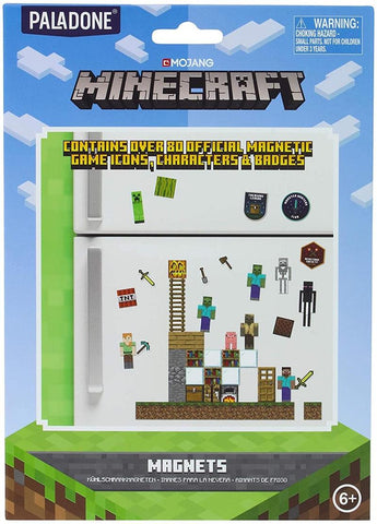Minecraft Build A Level Rubber Fridge Magnets