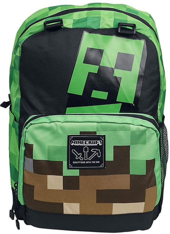 Minecraft Creepy Things 17 Inch Backpack
