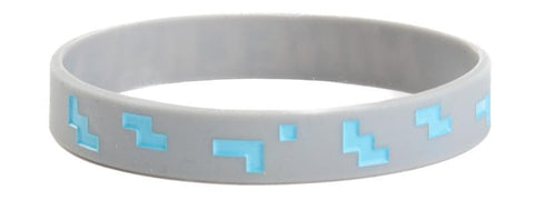 Minecraft Diamond Bracelet: Medium