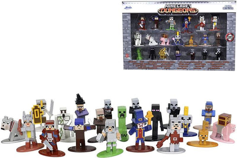 Minecraft Nano Metalfigs 20 Pack Wave 4 | 1.65 Inch Die-Cast Metal Figures
