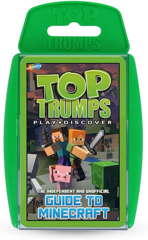 Minecraft Top Trumps Card Game