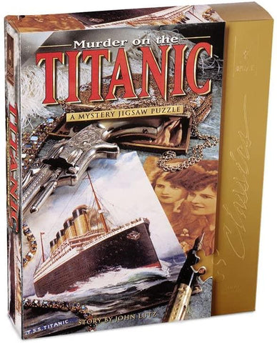 Murder on the Titanic 1000 Piece Classic Mystery Jigsaw Puzzle