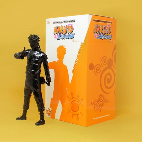 Naruto Icons 11.8 Inch Resin Figure | Black