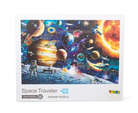 Space Traveler Space Puzzle 1000 Piece Jigsaw Puzzle | Jigsaw Puzzles For Adults