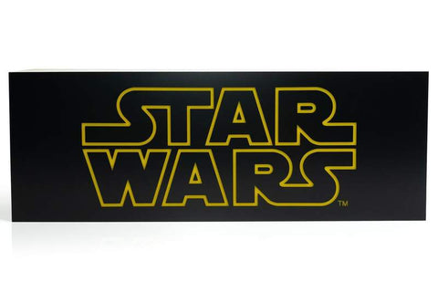 Star Wars Official Logo 17-Inch LightBox | Electric/USB Mood Light