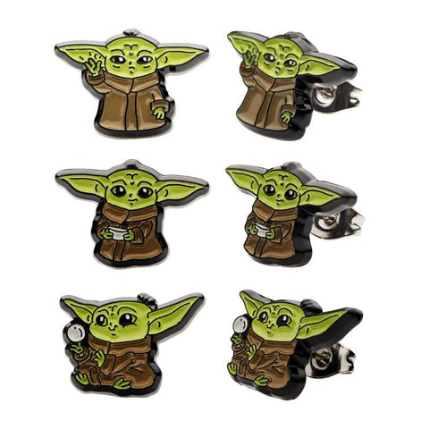 Star Wars The Mandalorian The Child Stud Earrings | Set of 3