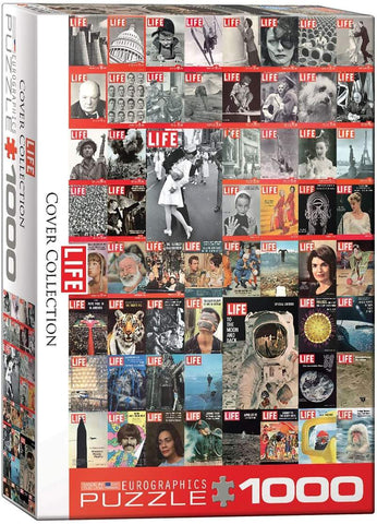 The LIFE Cover Collection 1000 Piece Jigsaw Puzzle