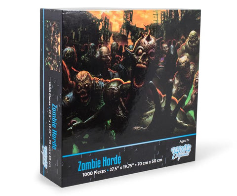 Zombie Horde Monster Horror 1000 Piece Jigsaw Puzzle
