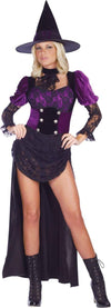 Burlesque Witch Dress Adult Costume