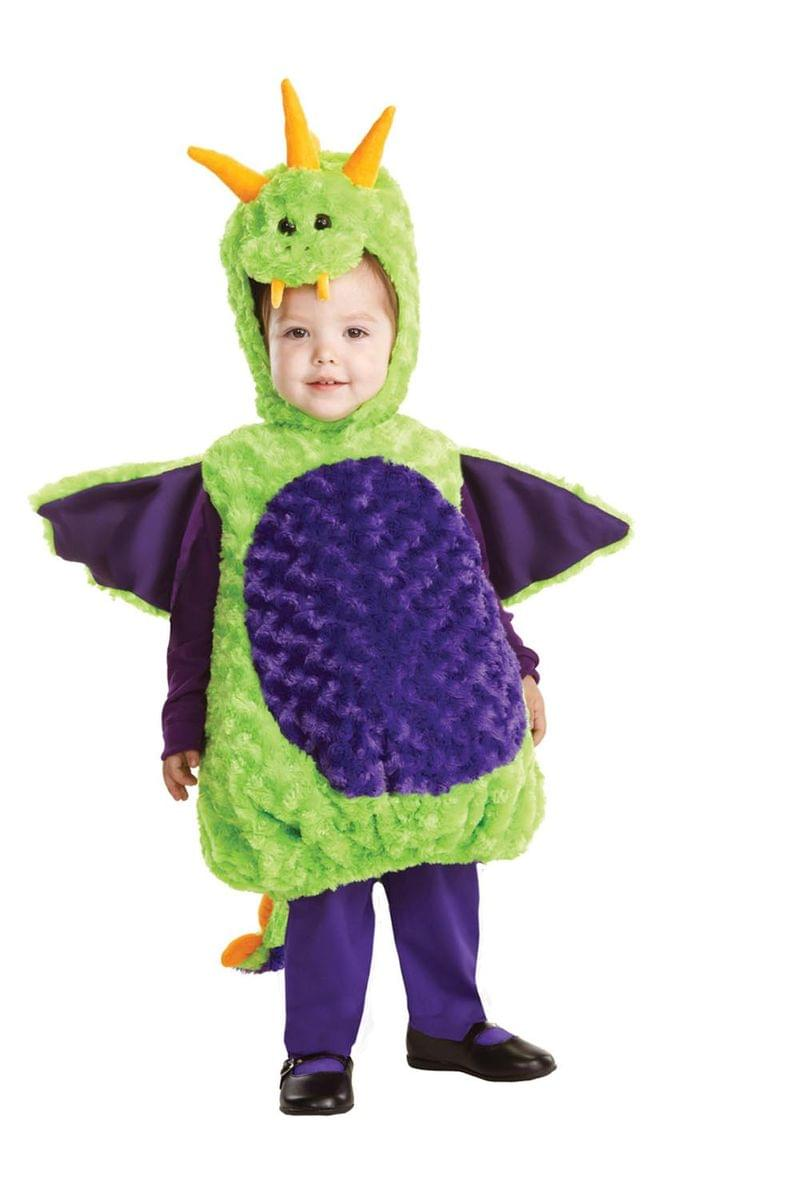 Belly Babies Green Dragon Costume Child Toddler