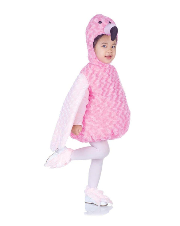 Belly Babies Pink Flamingo Costume Child Toddler