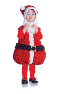 Belly Babies Holiday Santa Costume Child Toddler