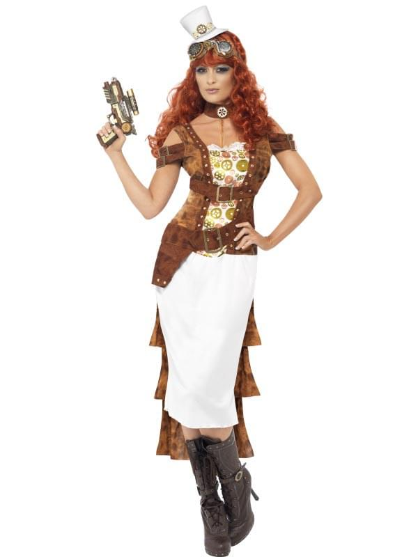 Steampunk Wild West Agent Temptress Adult Costume