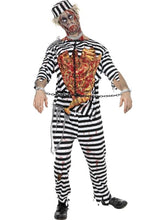 Load image into Gallery viewer, Zombie Convict Adult Costume