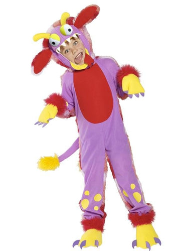 Wacky Grizzle Bodysuit Child Costume With Gloves