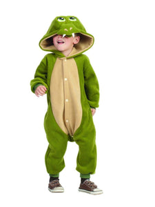 Funsies Kigurumi Ness Dragon Fleece Jumpsuit Costume Child Toddler