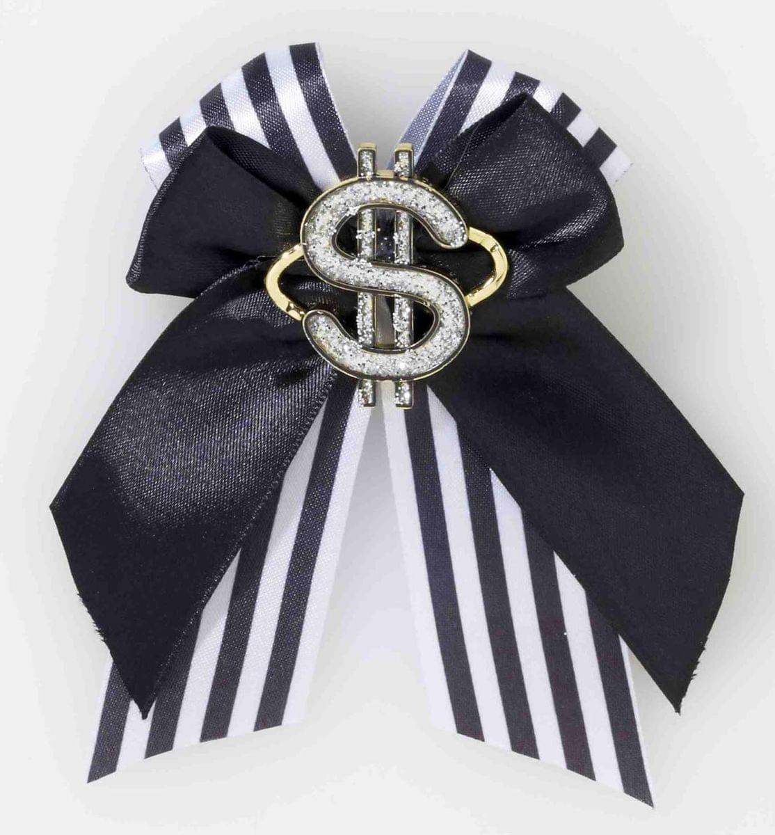 Gangster Dollar Sign Hair Clip Costume Accessory