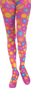 Circus Sweetie Polka Dot Panty Hose Adult Costume Accessory