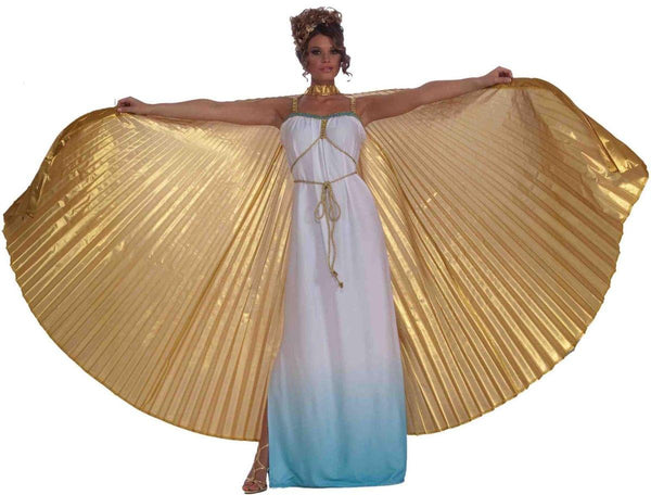 Gold Goddess Theatrical Costume Wings