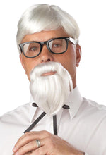 Load image into Gallery viewer, The Colonel Wig & Moustache Costume Accessory Set One Size