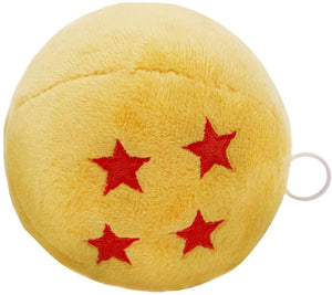Dragon Ball Z 4 Star Dragon Ball 4 Inch Rumbling Plush