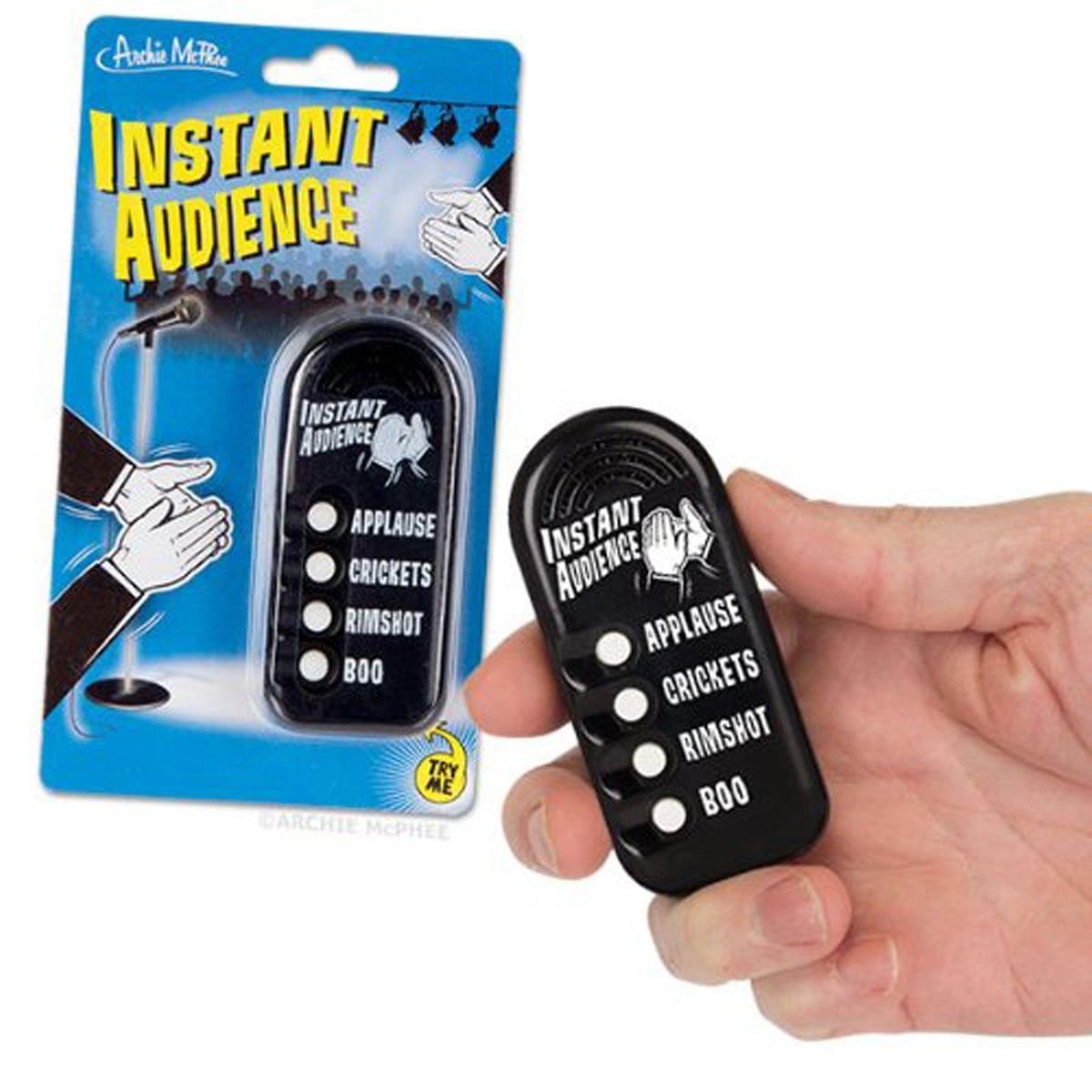 "Electronic ""Instant Audience"" Noisemaker"