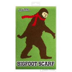 "Bigfoot 71"" Knit Scarf"