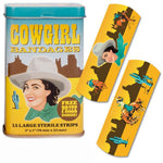 Cowgirl Adhesive Bandages: Set of 15