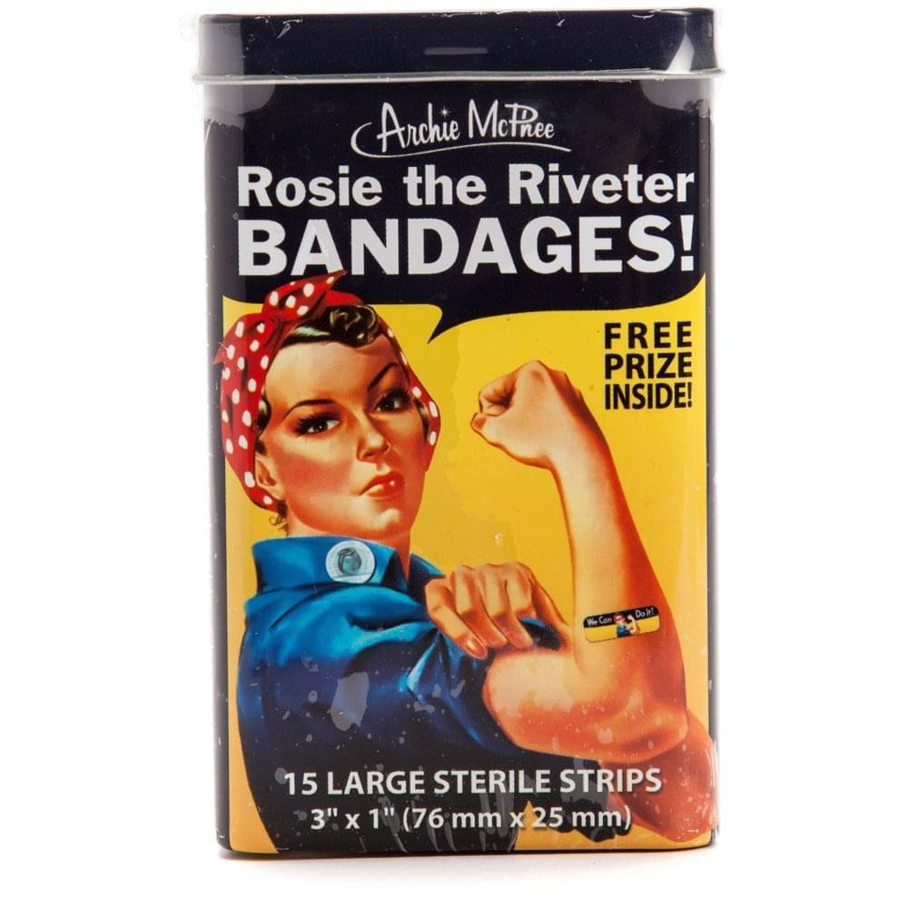 Rosie The Riveter Bandages, 15 Count