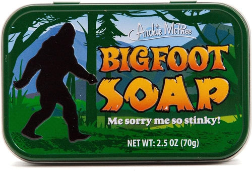 Bigfoot 2.5oz Novelty Bath Soap