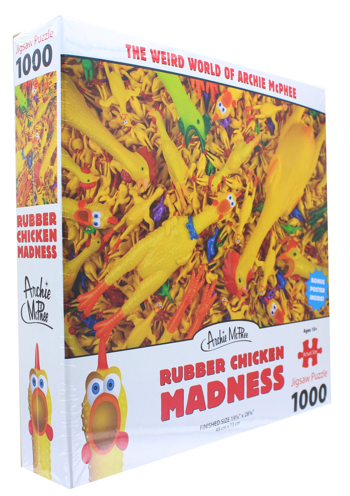 Rubber Chicken Madness 1000 Piece Jigsaw Puzzle