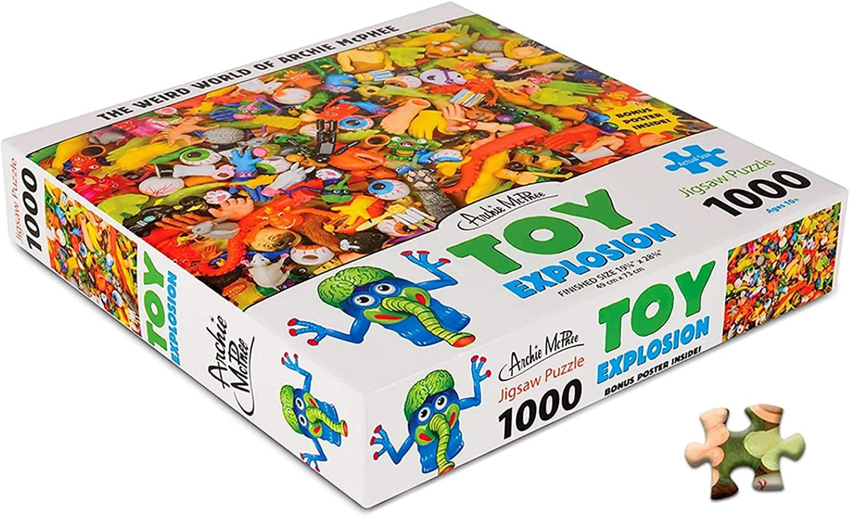 Toy Explosion 1000 Piece Jigsaw Puzzle