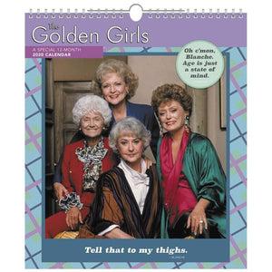 The Golden Girls 2020 Special Edition 13x15 Inch Wall Calendar