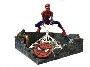 Marvel Spider-Man Finders Keypers Statue | Official Spider-Man Key Holder Figure