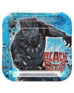 "Marvel Black Panther 9"" Square Paper Party Plates, 8-Pack"