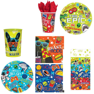 Epic Party Bundle 16 Piece Table Setting and Cover