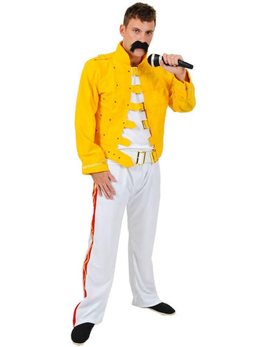 Yellow Rock Star Adult Costume