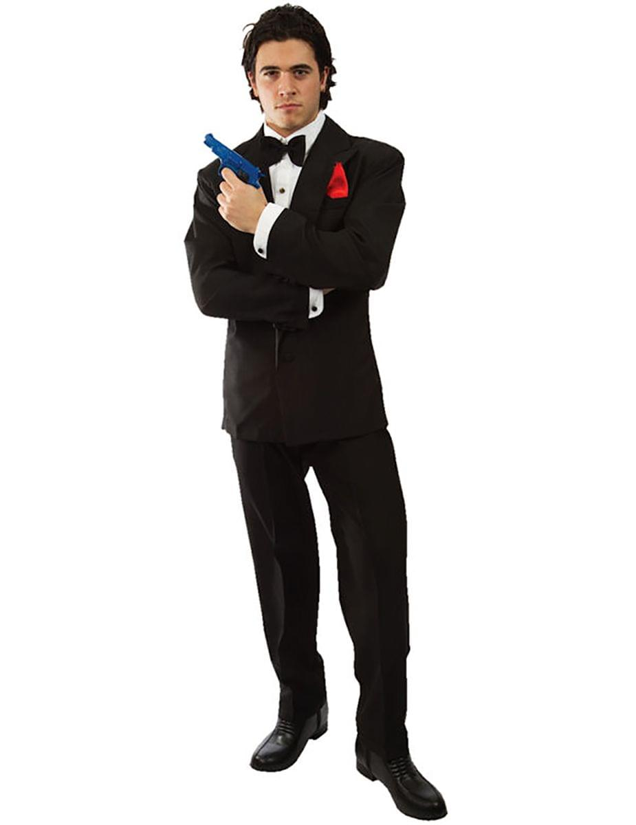 007 James Bond Adult Costume, X-Large