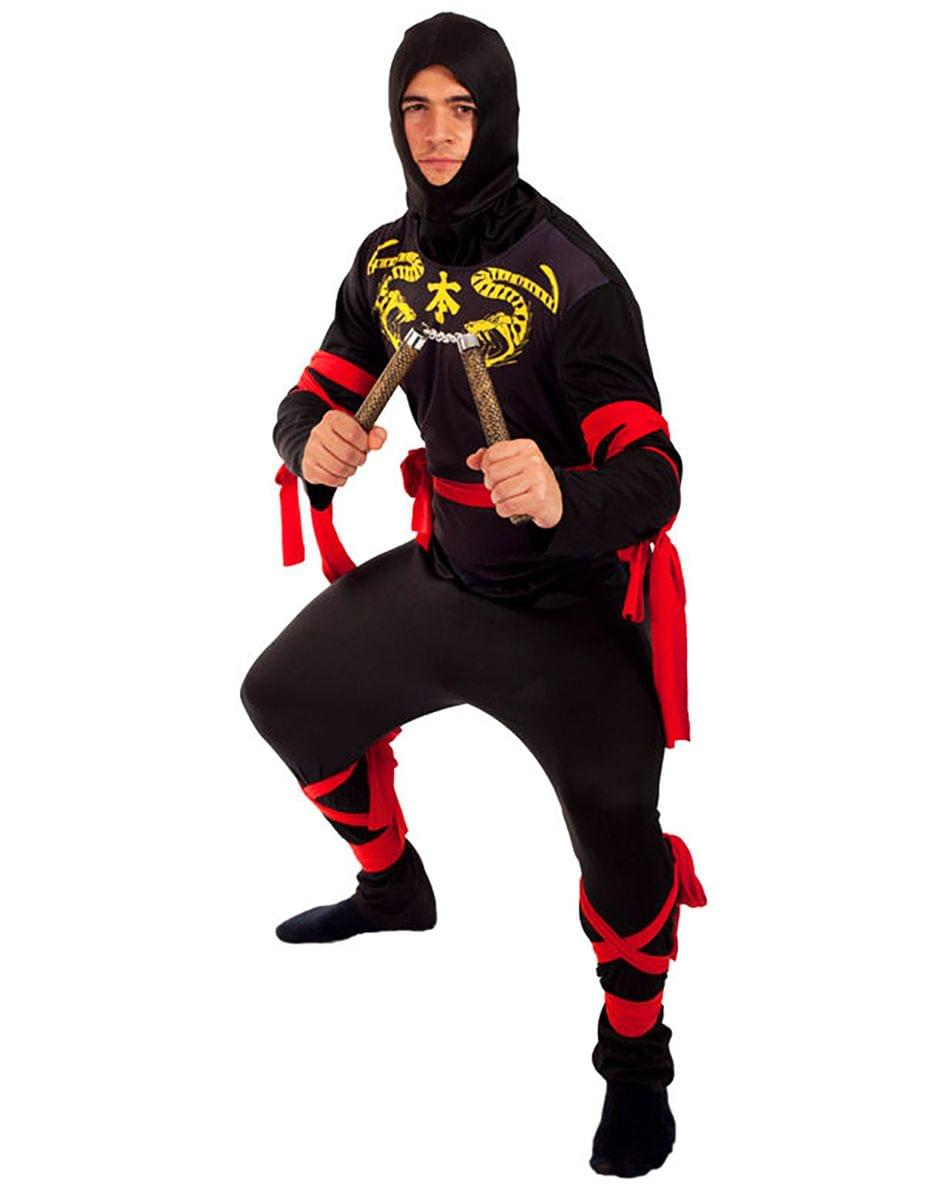 Ninja Men's Costume - Black