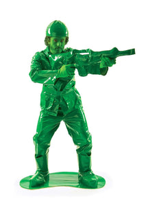 Toy Green Army Man Adult Costume, X-Large