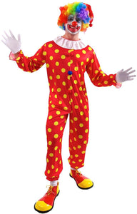 Bobbles The Clown Adult Costume