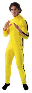 Martial Artist/ Bruce Lee Men's Costume Jumpsuit