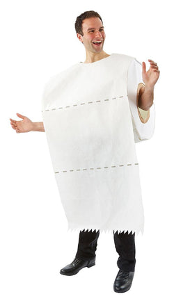 Toilet Paper Roll Adult Costume - One Size